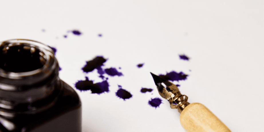 Blotched Ink From Fountain Pens