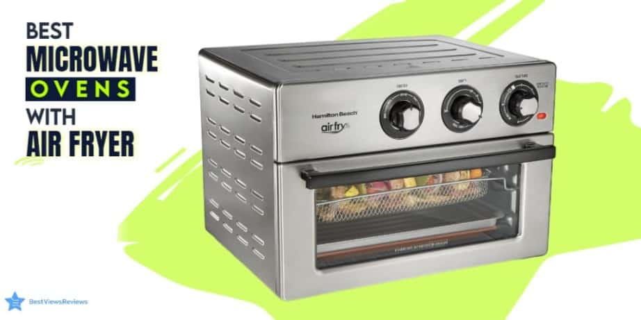 Microwave ovens with air fryer