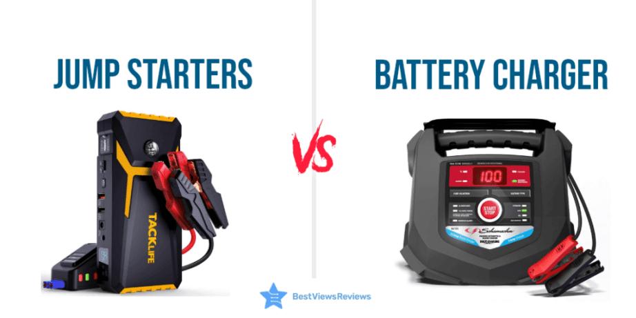 Jump Starter Vs Car Battery Charger