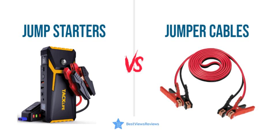 Jump Starters Vs Jumper Cables