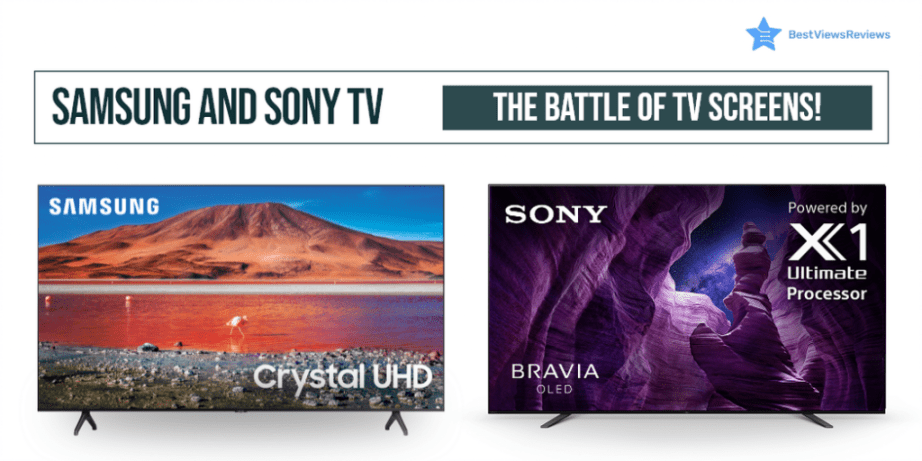 samsung and sony tv