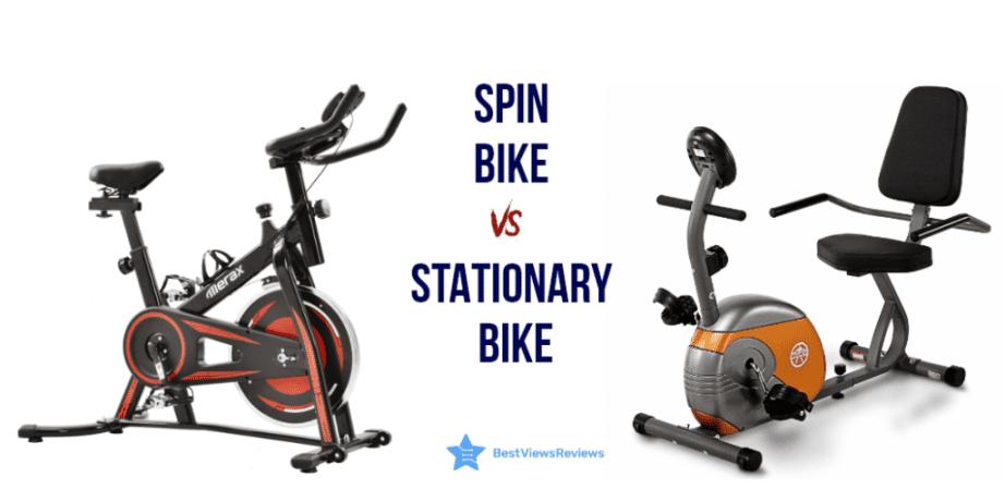 Spin Bike Vs Stationary Bike