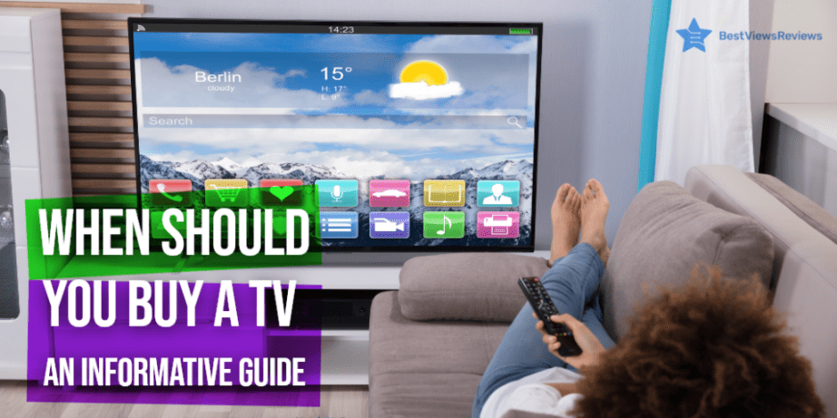 the best time to buy a new tv