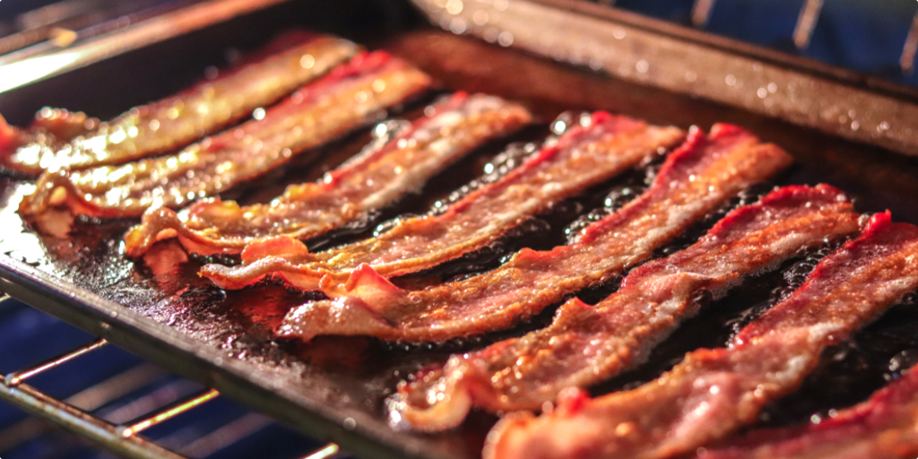 bacon in the oven